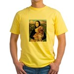 Mona's Golden Retriever Yellow T-Shirt