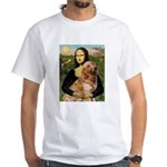 Mona's Golden Retriever White T-Shirt