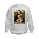 Mona's Golden Retriever Kids Sweatshirt