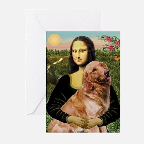 Mona's Golden Retriever Greeting Cards (Pk of 10)