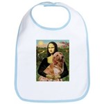 Mona's Golden Retriever Bib