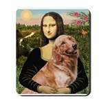 Mona's Golden Retriever Mousepad
