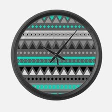 Unique Pattern Large Wall Clock