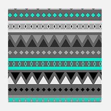 Cute Pattern Tile Coaster