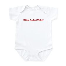 kitney aadmi thhe?  Infant Bodysuit