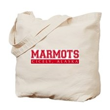 Cicely Marmots Tote Bag