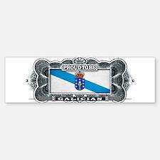 Proud To Be Galician Bumper Bumper Bumper Sticker