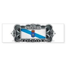 Proud To Be Galician Bumper Bumper Sticker