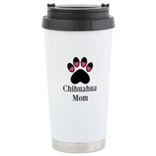 Chihuahua Mom Paw Print Travel Mug