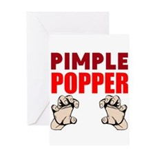 Pimple Popper Greeting Cards