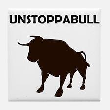 Unstoppabull (Unstoppable Bull) Tile Coaster