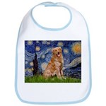 Starry Night Golden Bib