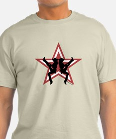 Star Cowgirls Red T-Shirt