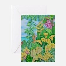 Tropic Gold Greeting Cards