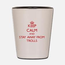 Funny Troll Shot Glass