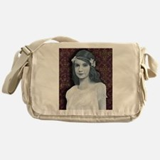 Silence is Golden Messenger Bag