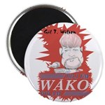 Gil T. Wilson on WAKO magnet