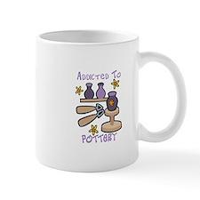 Addicted to Pottery Mugs
