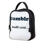 tumblr Neoprene Lunch Bag