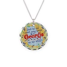 Georgia On My Mind Necklace
