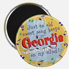 Georgia On My Mind Magnets