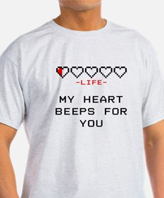 Zelda - My Heart Beeps for You T-Shirt