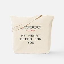 Cute 8 bit Tote Bag