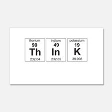 Periodic think elements Wall Decal