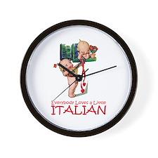 KEWPIES: LITTLE ITALIAN Wall Clock