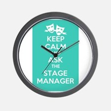 Unique Stage manager Wall Clock