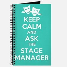 Cute Stage manager Journal