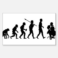 Unique Evolution humor Decal