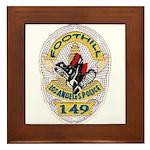 L.A. Foothill Division Framed Tile