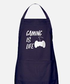 Gaming Is Life Apron (dark)