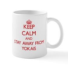 Keep calm and stay away from Yokais Mugs
