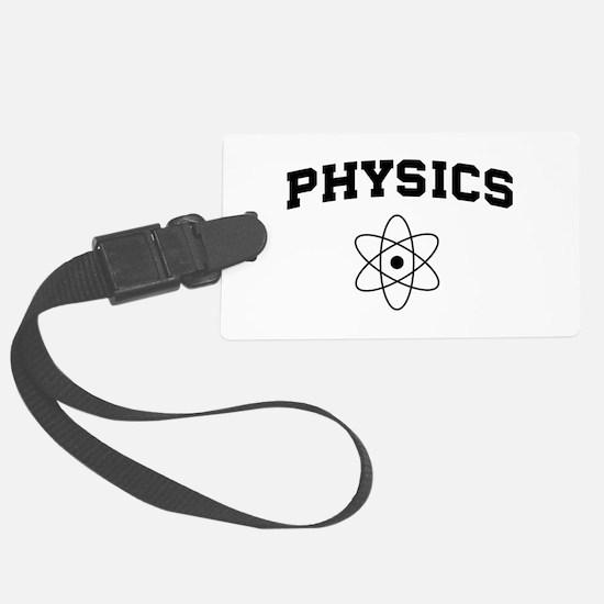 Physics atom Luggage Tag