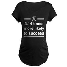 3.14 times more sucessful Maternity T-Shirt