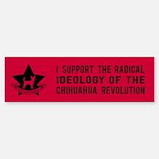 Chihuahua Revolution! Bumper Bumper Bumper Sticker