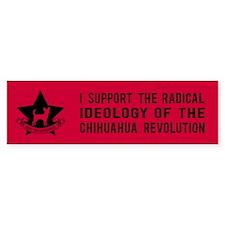 Chihuahua Revolution! Bumper Bumper Sticker