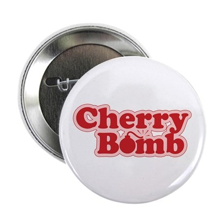 """Cherry Bomb 2.25"""" Button (100 pack)"""
