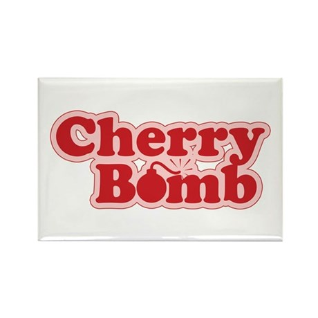 Cherry Bomb Rectangle Magnet (10 pack)