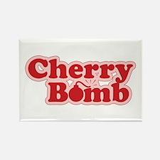 Cherry Bomb Rectangle Magnet