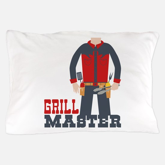 Grill Master Pillow Case