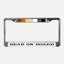 Unique Cubs men License Plate Frame
