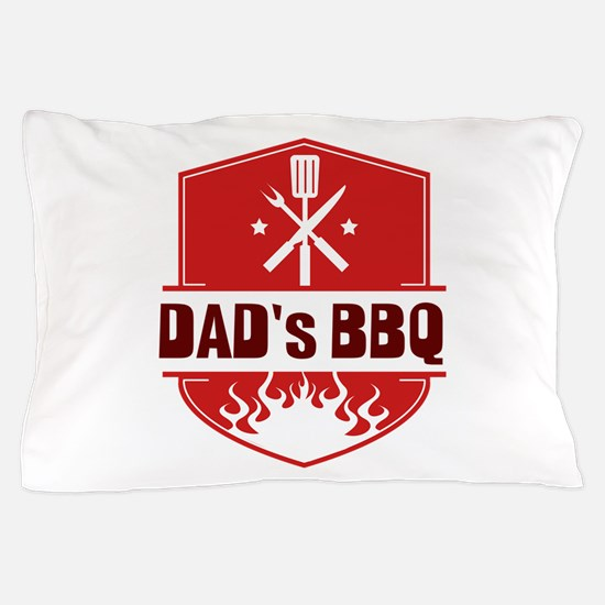 Dad's BBQ Pillow Case