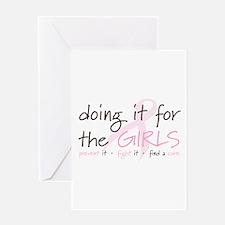 Breast Cancer Awareness Shirt Greeting Card