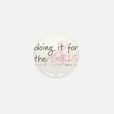 Breast Cancer Awareness Shirt Mini Button (10 pack