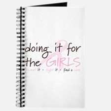 Breast Cancer Awareness Shirt Journal