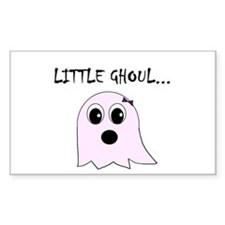 Little Ghoul Rectangle Decal