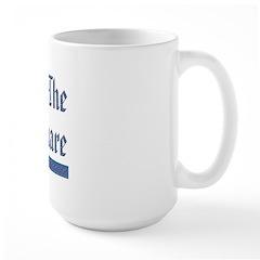 Masonic 'On The Square' Large Mug